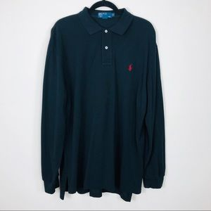 Polo by Ralph Lauren Small Pony Black Polo Size XL